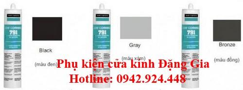 Màu sắc keo kết cấu791 1