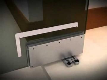 Cách sử dụng bản lề sàn