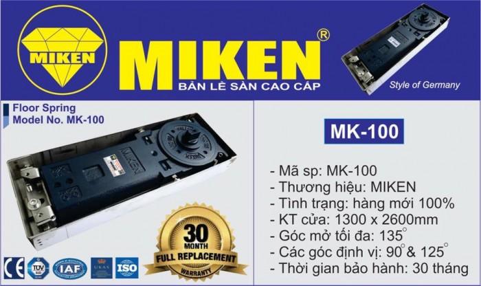 Bản lề sàn Miken mã MK-100 1