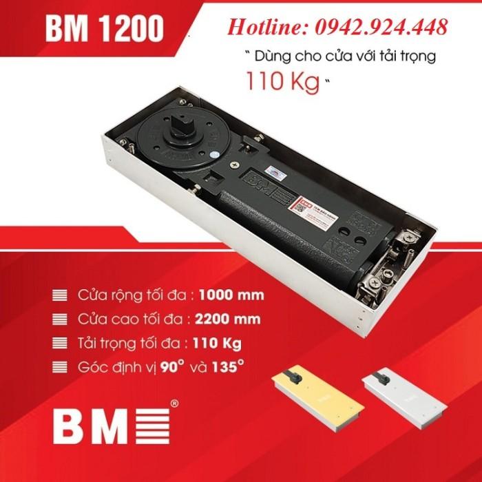 Thông số kỹ thuật bản lề sàn BM 1200 1