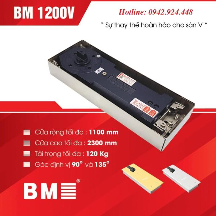 Thông số kỹ thuật của bản lề sàn BM 1200V 1