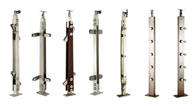 Một số mẫu trụ cầu thang inox 2