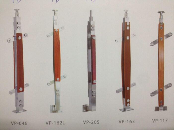 Một số mẫu trụ cầu thang inox 4